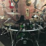Yamaha Live Custom 6 piece drum kit with HEX Rack II