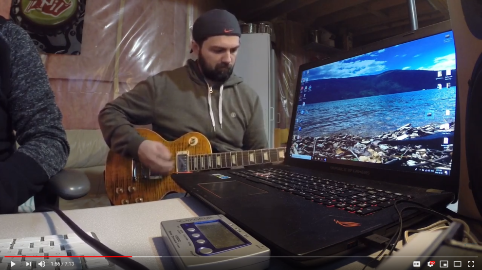 rob olexson & spencer mcleod working on an original song youtube screenshot