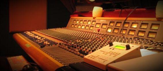 mcc recording studio mixing console